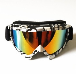 2019 capacetes de motos de sujeira New Motocross Óculos Homens Mulheres Óculos De Esqui Moto Capacete Óculos de Motocross Óculos À Prova de Vento Dirt Bike Bicicleta Eyewear capacetes de motos de sujeira barato