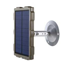 H881, H885, H501, H3, H9 HunterCams için Avcılık Kamera Fotoğraf Tuzaklar Chasse Kamera 1500mAh Güneş Paneli Güç Şarj için Solar Charger nereden