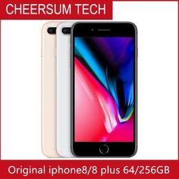 дюймовый android-телефон 3g android 4.2 Скидка Оригинальный разблокирована Apple, iPhone 8 / iPhone 8 Plus 2GB RAM 64GB 256GB ROM Hexa Ядро 12MP IOS 11 LTE смартфон 4G LTE