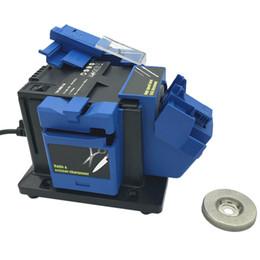 apontador de ferramentas elétrico Desconto 96W Multifunction Sharpener Household Moagem ferramenta Sharpener de faca Broca HSS Broca Scissor Cinzel elétrica Grinder (UE