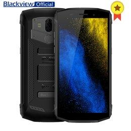 """Blackview BV5800 Pro MT6739 Quad Core 2GB + 16GB 5.5 """" 18: 9 Смартфон водонепроницаемый отпечатков пальцев 5580mAh беспроводной быстрой зарядки телефон от"""