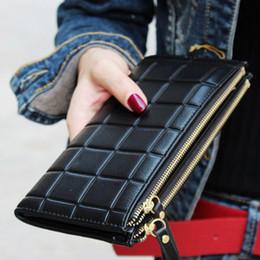 Telefone celular on-line-2018 novas mulheres da moda carteira de embreagem bolsa das mulheres melhor telefone carteira feminina caso telefone de bolso