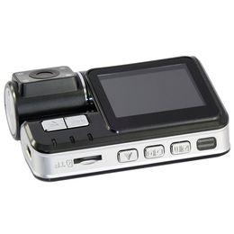 obiettivo nero doppio dell'automobile Sconti Auto DVR I1000 Doppia fotocamera dvr Camcorder i1000 Auto HD 1080P Dash Cam Black Box Registratore di guida con parcheggio Posteriore telecamere lente