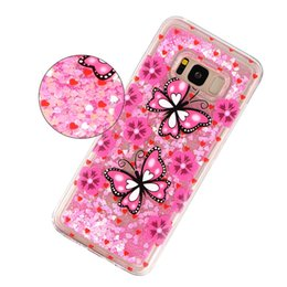 glitter butterflies Coupons - For Huawei Mate 20 Pro P20 Lite P Smart Enjoy 7S Quicksand Soft TPU Case Sparkle Fairy Bling Liquid Butterfly Dog Owl Glitter Luxury Covers