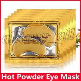 Argentina Nuevo PILATEN Máscaras de ojos Colágeno Cristal Oro Polvo de cristales Máscara de ojos Cuidado de la piel Oscuro contra arrugas Humedad Cuidado de los ojos Suministro