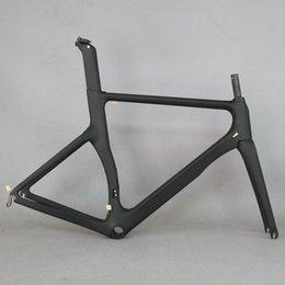 Gewebte fahrradräder online-Aero Design Ultraleicht 18K Carbon Rennrad Rahmen Carbon Rennrad Rahmen 700c Räder