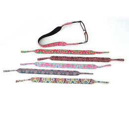 party brillen Rabatt Stretchy Sport Sonnenbrille Strap Fashion Cord Inhaber Brillen Ketten Outdoor Sonnenbrille Band Schutz Party Geschenk TTA889