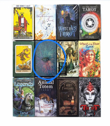 deck cards Coupons - Rider Tarot Deck Board Game Cards Wild Foll Tarot Familiars Cards Animal Legends DHL Free Shipping