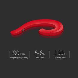 Micrófono auricular online-2018 DY-07 Auriculares inalámbricos inalámbricos Bluetooth gancho para el oído auriculares portátiles portátiles sin dolor auriculares inalámbricos sin dolor con micrófono S103