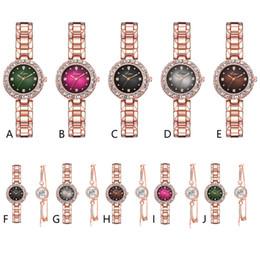 2019 volle kristallfrauenuhren Relogio CONTENA Kristall Diamant Uhr Luxus Rose Gold Frauen Uhren Mode Damenuhren Voller Stahl Armbanduhr Uhr Saat