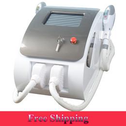 importa dos Rebajas máquina de eliminación de vello IPL SHR OPT de IPL SHR OPT de eliminación de vello shr 2000 x two handpiece