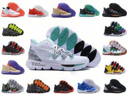 Magia de renda de sapato on-line-Mens KII 5 V Misturas de Neon Ikhet Taco BHM CNY Black Magic tênis de basquete 5S Sapatilhas Sapatos Esportivos Formadores Sapatos de Basquete Nike Irving tamanho 40-46
