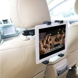 Pouce pouces en Ligne-Support de bâti d'appui-tête de siège arrière de voiture haut de gamme pour tablette / GPS de 7 à 10 pouces pour IPAD