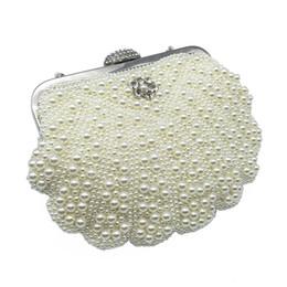 2019 perle Frauen Tasche Mode Zwei Seitige Perlen Abendtaschen Für Weibliche Elegante 3 Farben Braut Hochzeit Party Clutch von Fabrikanten