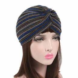 17fef589bb849 2019 sombreros europeos 2018 Nueva moda europea y americana Tocado de  terciopelo Rayas de la India