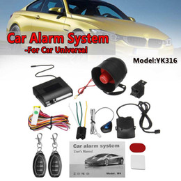 vehicle security alarms Coupons - Universal 1-Way Car Vehicle Protection Alarm Security System Keyless Entry Siren +2 Remote Controller Burglar Anti-theft Alarm