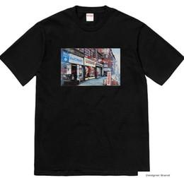 Sup chemise en Ligne-100% Box Logo marque Designer chemise sups remep luxe 19ss marque classique street designer sweatshirt vêtements chemise marque T-shirt vente chaude