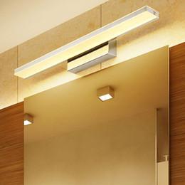 2020 luz de noche simple Conveniente moderna Baño de aluminio dormitorio simple prueba de humedad Maquillaje Led enciende la lámpara del gabinete decoración de iluminación nocturna rebajas luz de noche simple