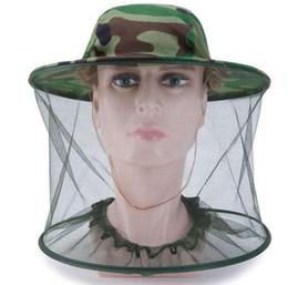 Tarnung Moskito Hut Netz Midge Bug Jagd Camping Cap Anti Moskito Maske
