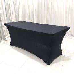 2019 pano de mesa de natal roxo Stretch lycra de estiramento de pano de tabela de mesa de mesa para mesas dobráveis padrão preto mais durável clássico sytle cores misturadas