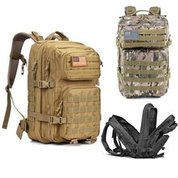 43L Zaino da esterno Zaini tattici Uomini Zaino da campeggio zaino da trekking di grande capacità con zaini cheap backpacking packs da pacchetti backpacking fornitori