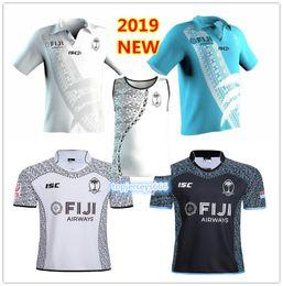 2019 olimpíadas camisetas 2019 fiji casa branco Camisa de rugby Sevens Camisa Olímpica 18 19 Nacional 7's Rugby Jersey s-3xl olimpíadas camisetas barato
