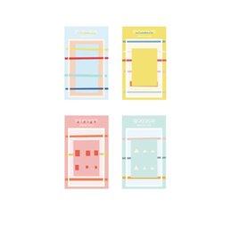 Заметки цвет страницы онлайн-36 шт. / лот свежий цвет sticky note и memo pad сообщение повестка дня планировщик книга страница маркер канцелярские офис школьные принадлежности