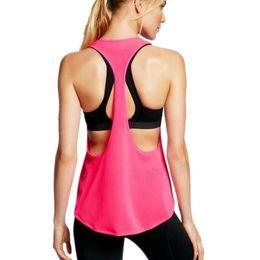 2019 coole singles Frauen weich entspannt schnell trocknend Racerback Cool Mesh Schweiß Training Gym Yoga Workout Singlet rabatt coole singles
