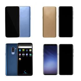 3g google Скидка Разблокированный Goophone 9 plus S8 + S8 Plus iX i8 Plus 1GB 4GB Show Octa Core 4G LTE android 7.0 3G мобильный телефон герметичная коробка