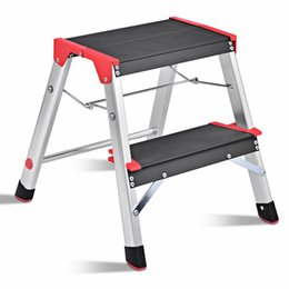 Terrific 2 Step Aluminum Lightweight Ladder Folding Non Slip Platform Stool 330Lbs Load Gmtry Best Dining Table And Chair Ideas Images Gmtryco