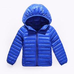 Licht ace online-ACE LOVE Marke 90% Entenfeder Ultraleichte Jungen Mädchen Kinder Herbst Winter Jacken Baby Daunenmantel Jacken Oberbekleidung