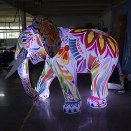 bande dessinée éléphant gonflable dessin animé extérieur animaux sauvages éléphants décoratifs gonflables pour zoo ? partir de fabricateur