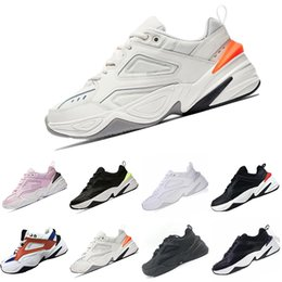 1d2eee8a5 2019 Mens M2K Tekno Old grandpa Running Shoes Women Pink Sneakers Athletic  Trainers Professional Outdoor Sports Shoes 36-45
