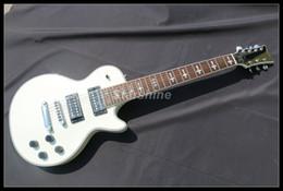 Белые гитарные струны онлайн-Starshine 7 струн гитара YL-7EW белая отделка Гровер тюнер T-O-M Brige индивидуальные электрогитара