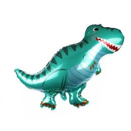 3d воздушные шары онлайн-3D Динозавр Воздушный Шар Новый Алюминиевый Пленка Нерегулярные Надувные Шар Тиранозавр Трицератопс Тема Украшения Партия Воздушный Шар детские Игрушки