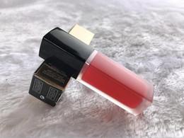 Brillo de labios mate de terciopelo online-Famosa marca de maquillaje de tinta tubo de terciopelo mate lápiz labial 8 colores 140 146 154 lipgloss mujeres maquillaje de larga duración lápices labiales líquidos al por mayor