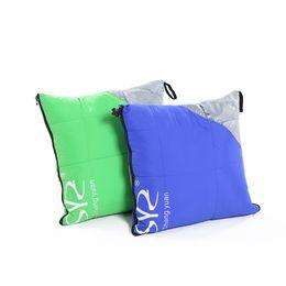 Pato para baixo edredões on-line-VILEAD 2 Cores Duck down Saco de Dormir como Travesseiro Leve Camping Material Caminhadas Dormir Inverno Ultraleve Acampamento Adulto Colcha