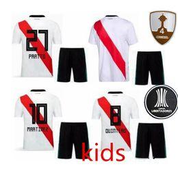 74dba3d803 2018 TOp River Plate KIDS youths 2018-2019 Maglia Home Soccer Camisa  Martinez childs River Plate vs Boca Juniors Obiettivi Highligh PRATTO  pullover di ...