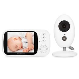 XF808 ЖК-экран Аудио Видео приемник беспроводной цифровой видео дети Baby Sleeping Monitor Night Vision датчик температуры от Поставщики кабельные разъемы