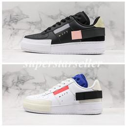 Nike Air Force 1 Forces 1 Type N.354 Utility 1s Classic Noir Blanc Hommes Femmes Chaussures De Course Air Orange Skate Baskets Basses Décontractées