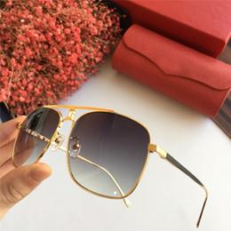 61ad2c8515 woman Men vintage EYEGLASSES FRAMES WOOD SUNGLASSES RIMLESS FRAME plated  Santos Designer Sunglasses Brand New in Box CNUM181128-2