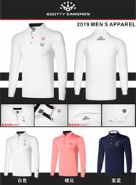 2019 одежда для ту 2019new гольф рубашки мужчины быстро сухой гольф спорта длинные рукава рубашки одежда Tu скидка одежда для ту