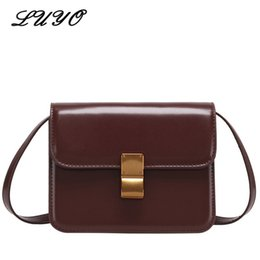 2018 Fashion Curd PU Leather Small Girl Messenger Bag Flap Famous Brand  Luxury Handbags Women Crossbody Bags For Designer Cheap 05cd92729206d