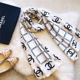 Argentina Top Qualtiy Marca bufanda patrón de la letra de las mujeres bufanda de seda de lana Cachemir diseñador bufanda del chal de las señoras bufandas calientes Suministro