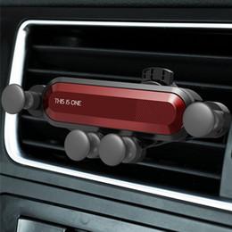 Новый Стиль Универсальный Автомобильный Держатель Телефона GPS Стенд Гравитация Стенд Для Телефона Автомобильный Держатель Нет Магнитный Для iPhone 8 Поддержка Xiaomi Huawei cheap universal stand car от Поставщики универсальный стенд