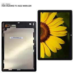 9.6 '' para Huawei MediaPad T3 10 AGS-L09 AGS-W09 AGS-L03 Panel de pantalla LCD Combo Pantalla táctil Sensor de vidrio Piezas de repuesto desde fabricantes