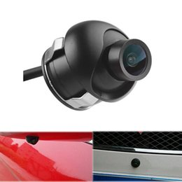 front backup camera Promo Codes - Car Rear View Camera CCD HD Night Vision Reversing Backup Camera Car Front View Side For Front D2