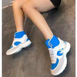 cordones de arranque originales Rebajas Zapatos de vestir de diseño para mujer Botines casuales para mujer Zapatillas con cordones y zapatillas altas empalmes deportivos Zapatos clásicos Con caja original
