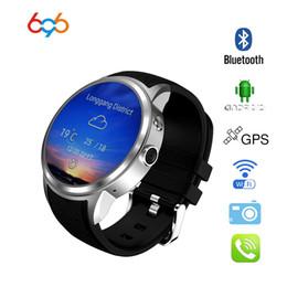 telefono impermeabile della vigilanza 3g Sconti 696 Smart watch X200 Android 5.1 IP67 impermeabile Smartwatch phone MTK6580 ROM 8GB supporto 3G wifi WCDMA Whatsapp MP4 pk kw88 / x5