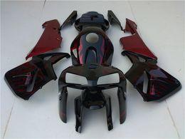 grün 1998 zx7r Rabatt 4Gifts Custom Free Injection Mould Neue ABS Motorrad Verkleidungen Kits Fit für HONDA CBR600 2005 2006 CBR600RR F5 CBR Orange und Schwarz Splatter